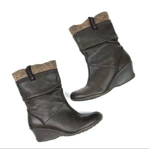 Merrell Lily Performance leather slouch boots